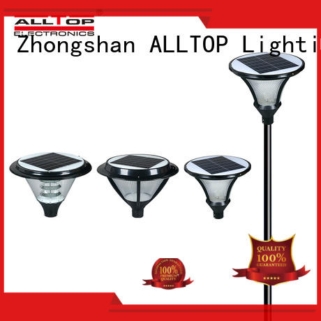ALLTOP classical solar garden lamps supplier for decoration