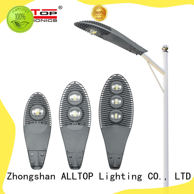 ALLTOP automatic 20w led street light supply for park