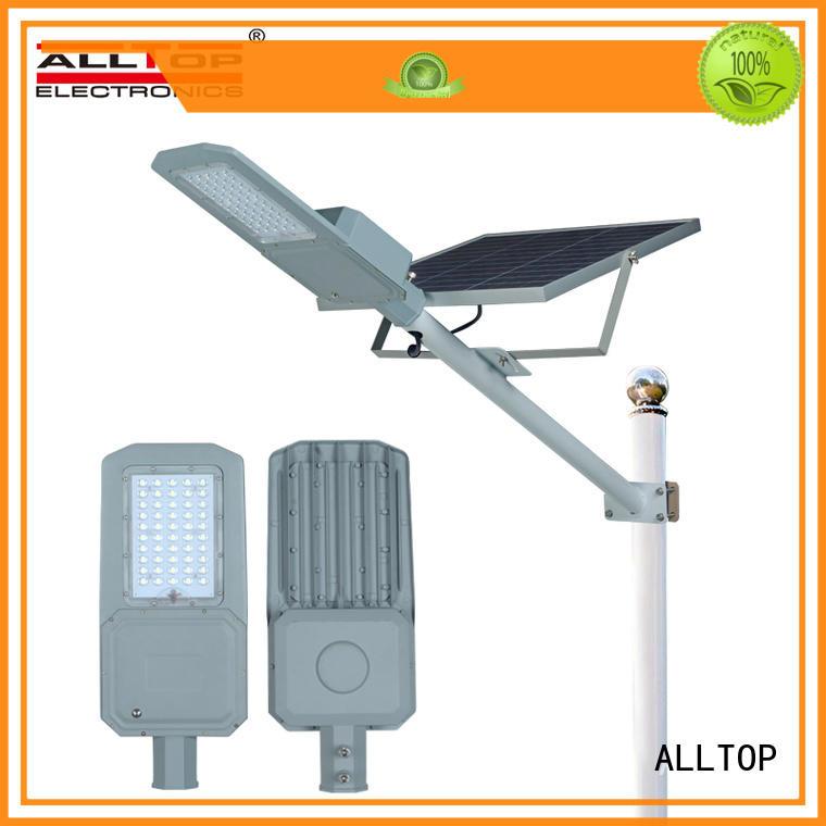 ALLTOP top selling solar led street lamp supplier for lamp