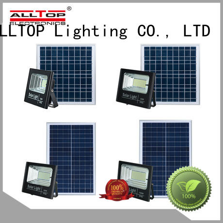 ALLTOP solar flood lamp supply for stadium