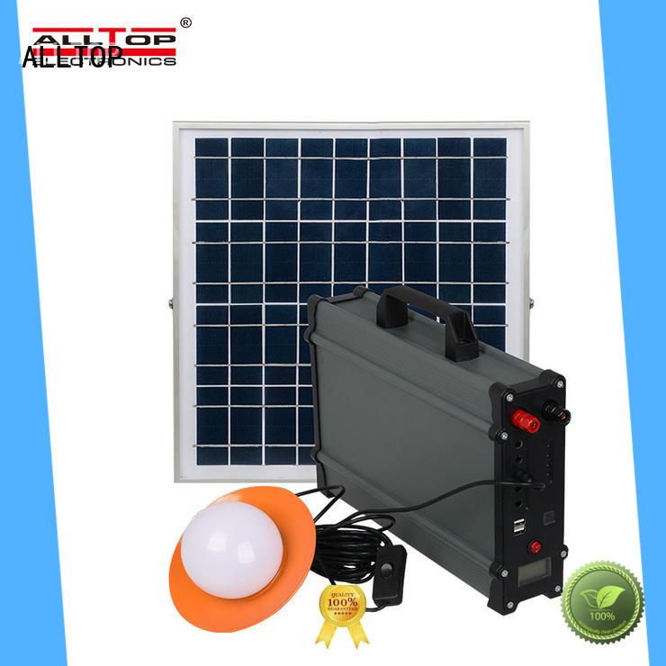 ALLTOP solar powered lights oem directly sale for outdoor lighting