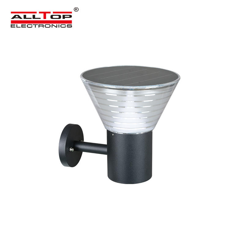 ALLTOP 5watt waterproof ip65 outdoor all in one solar led garden lamp light price-1