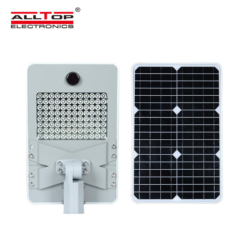 ALLTOP 50W 100W 150W 200W IP65 outdoor integrated motion sensor all in one solar led street light-1
