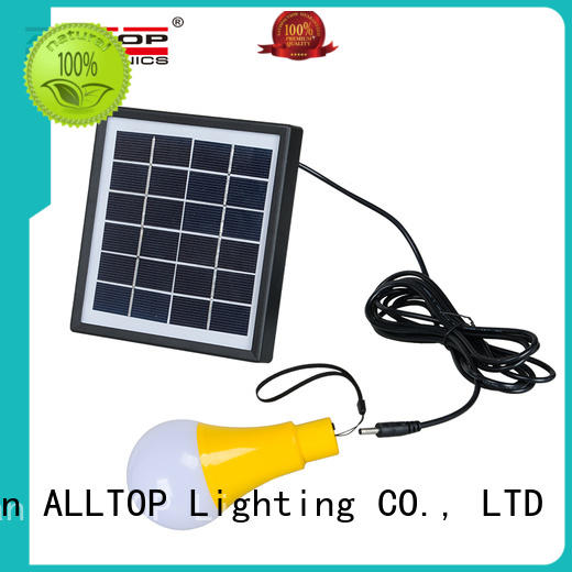 solar fence wall lights high quality for garden ALLTOP