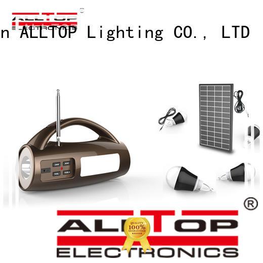 ALLTOP energy-saving solar house lighting system for home