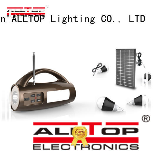 ALLTOP energy-saving solar house lighting system for home