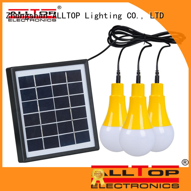 ALLTOP waterproof solar pir wall light factory direct supply highway lighting