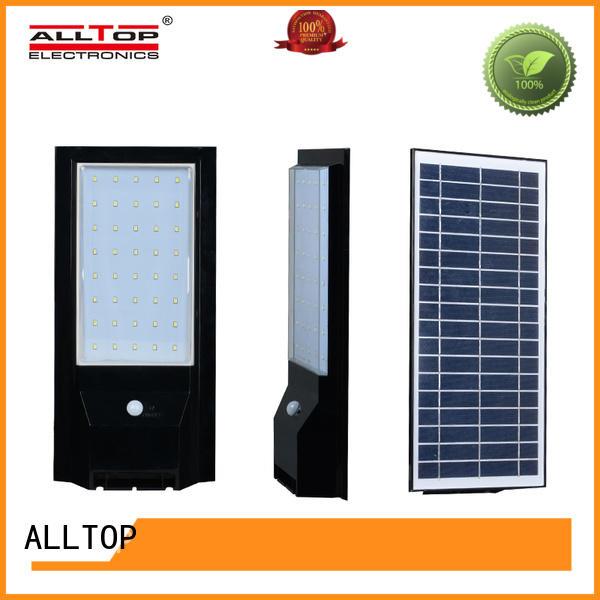 ALLTOP energy-saving solar pir wall light directly sale for concert