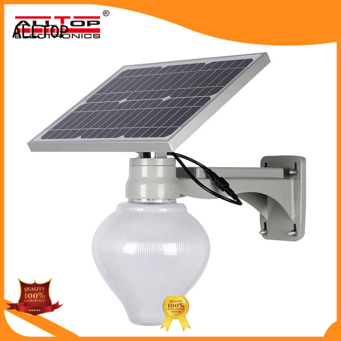 ALLTOP 12w solar street light free sample for garden
