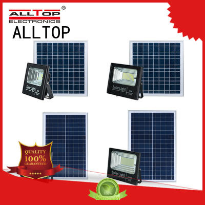 ALLTOP solar flood lights popular for stadium
