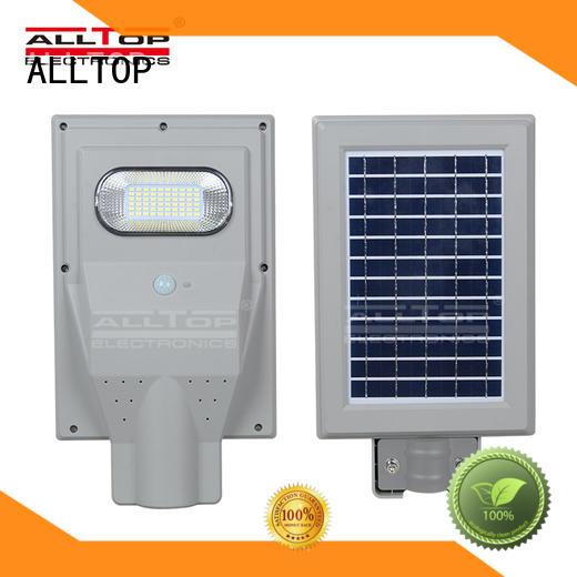 street motion solar street light led ALLTOP Brand company