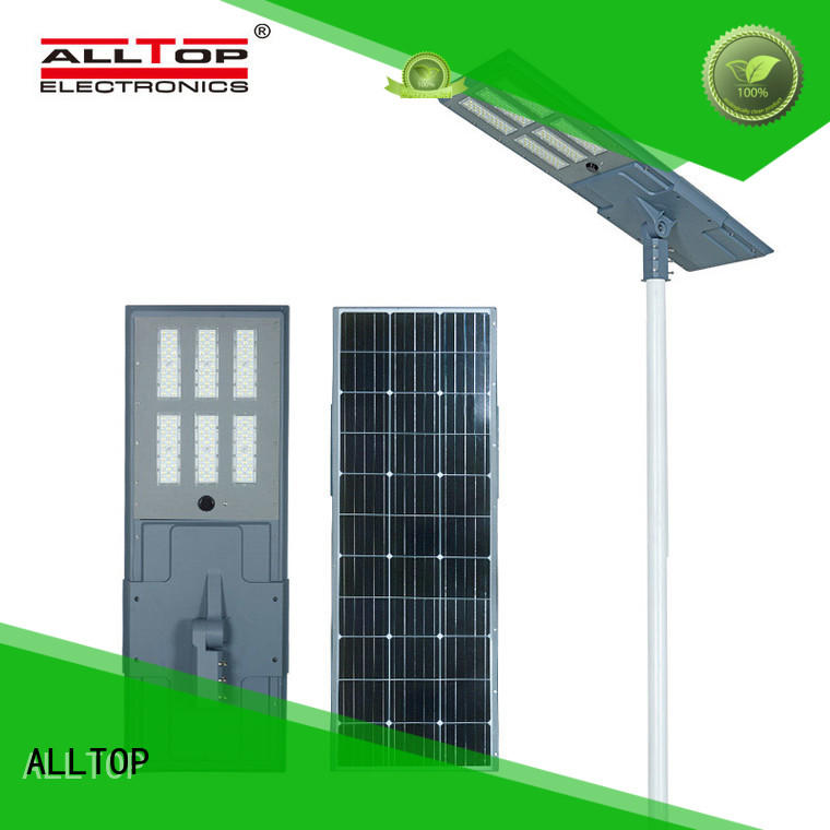 ALLTOP motion solar powered outdoor lights free sample for road