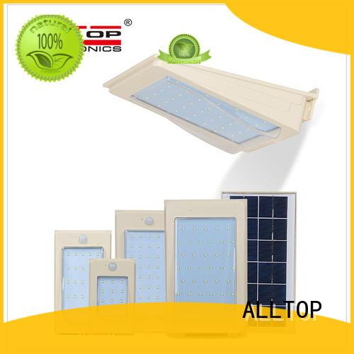 outdoor solar led wall lamp housing for garden