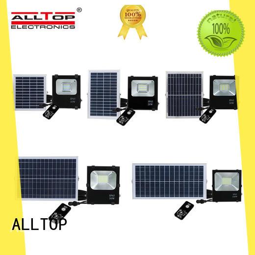 ALLTOP portable best solar flood lights factory for spotlight