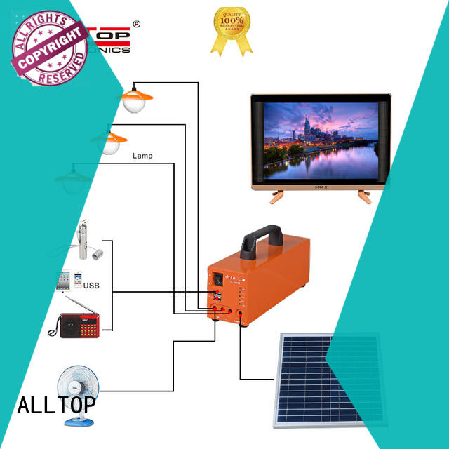 ALLTOP solar led lighting system with good price for home