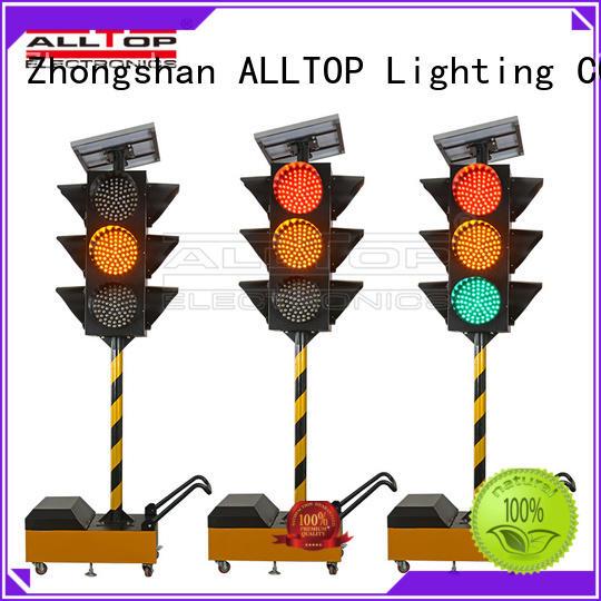 ALLTOP solar traffic light suppliers factory for police