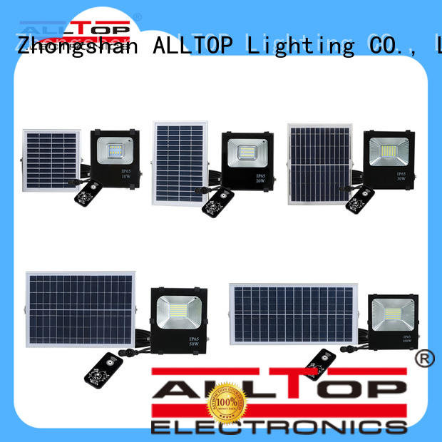 ALLTOP square best solar flood lights custom for stadium