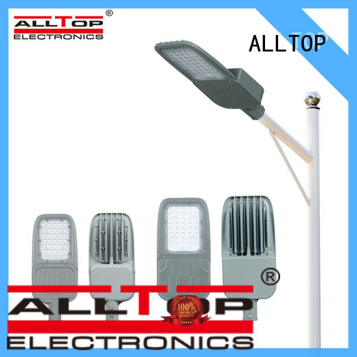 ALLTOP super bright customized 60w integrated solar street light factory for workshop