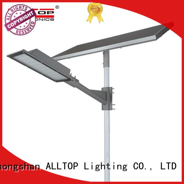 ALLTOP solar street lamp aluminum for playground