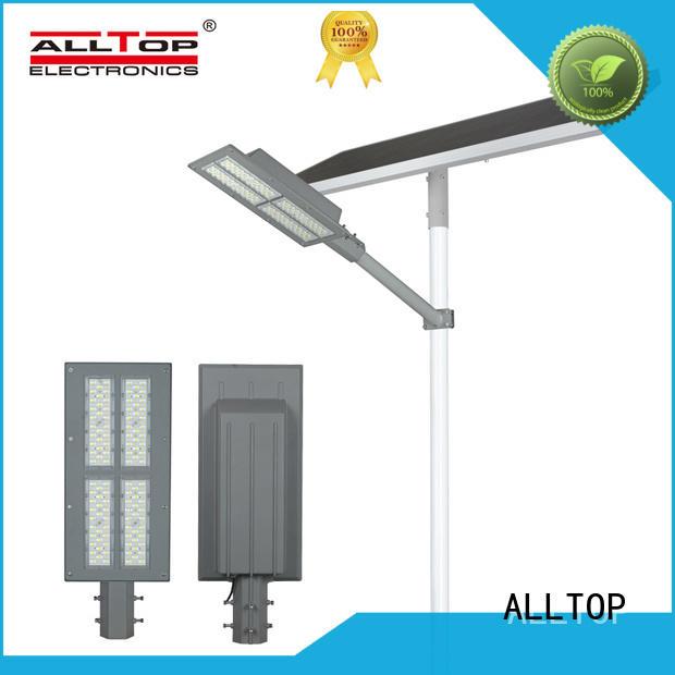 Intelligent aluminum alloy case waterproof 180W solar street light
