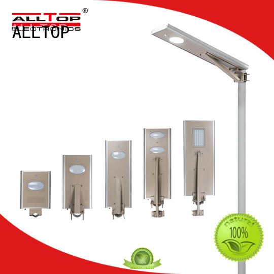 ALLTOP energy-saving automatic solar street light factory factory direct supply for road