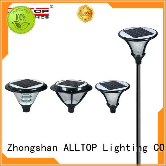 ALLTOP energy saving customized solar garden light factory for decoration