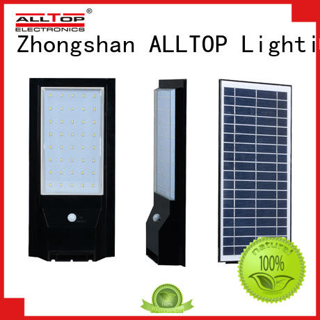 solar pir wall light portable for concert ALLTOP