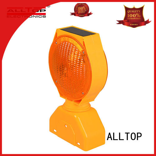 ALLTOP double side portable traffic signals signal for safety warning