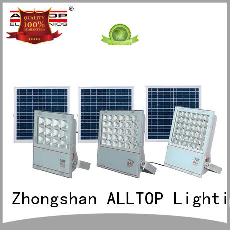 rechargeable solar flood lamp OEM for stadium
