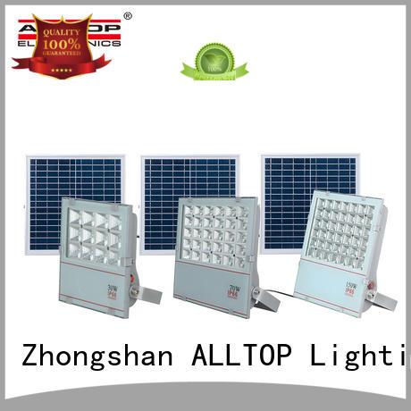 rechargeable solar flood lamp OEM for stadium