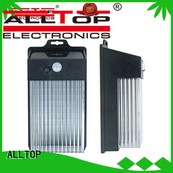 ALLTOP energy-saving solar wall lamp with good price for street lighting