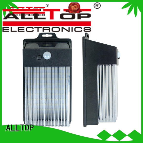 ALLTOP energy-saving solar wall lamp with good price for street lighting