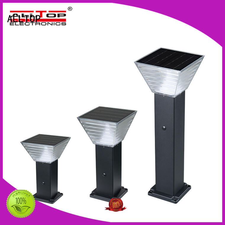 integrated solar yard lights manufacturer for decoration