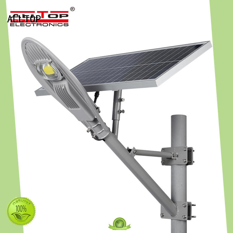 ALLTOP waterproof solar road lamp directly sale for outdoor yard