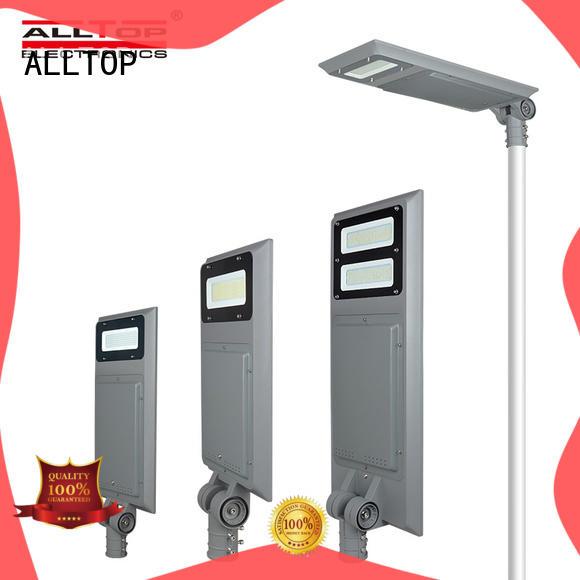 ALLTOP sensor solar pole lights free sample for highway