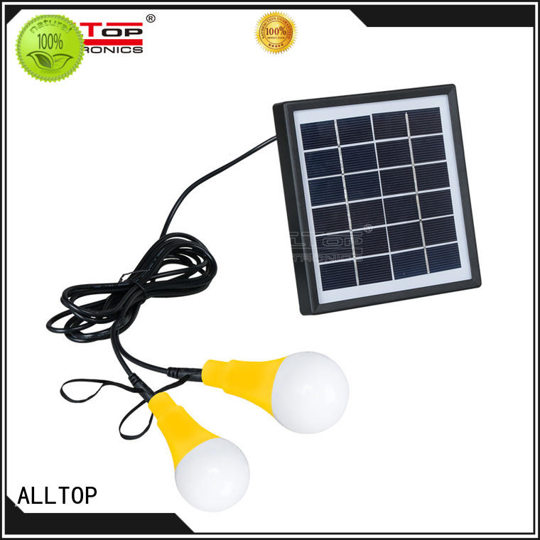 ALLTOP Brand outdoor washer solar wall lantern aluminum factory