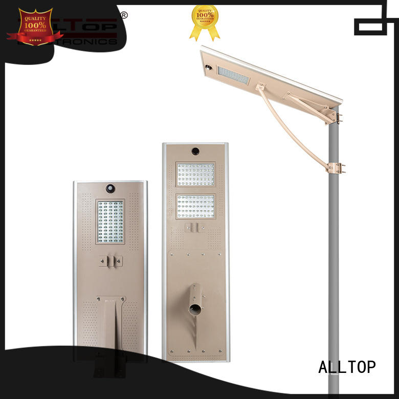 ALLTOP outdoor customized all in one solar led street light manufacturer for road