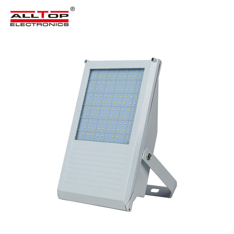 ALLTOP square solar sensor flood lights aluminum alloy for spotlight-1