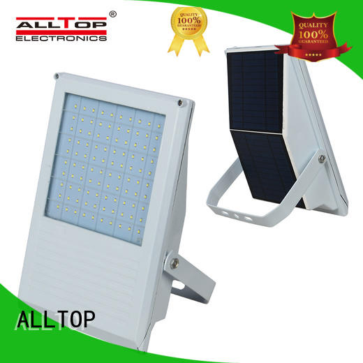 ALLTOP Brand square lumen solar flood light kit