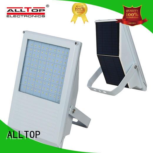 ALLTOP Brand square lumen solar flood light kit