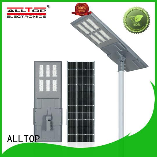 ALLTOP solar street light factory price for garden