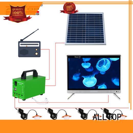 portable solar led lighting system wholesale indoor lighting