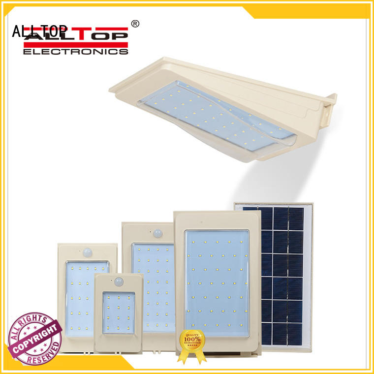 ALLTOP waterproof wall light solar high quality for camping