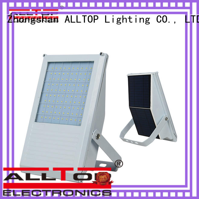 ALLTOP folding solar led flood lights for business for stadium