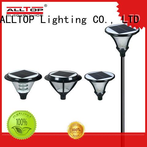 solar pillar lights energy saving for landscape ALLTOP