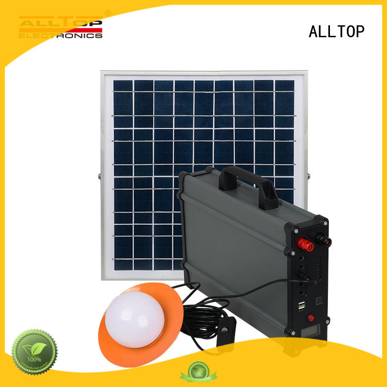 panel solar dc lighting system at discount for camping