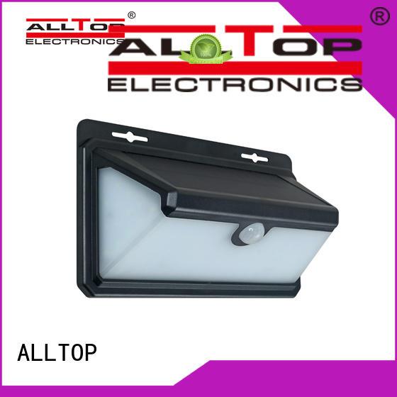 ALLTOP high quality solar wall lantern manufacturer highway lighting