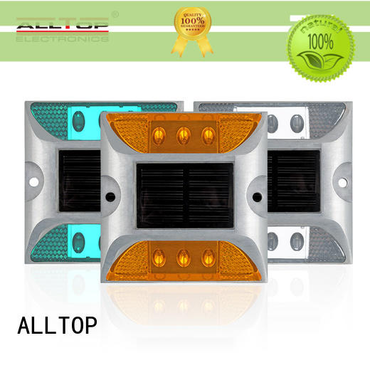 ALLTOP waterproof solar traffic light intelligent for police