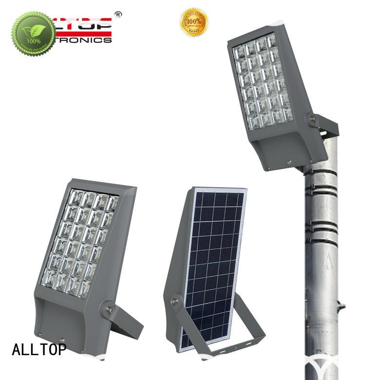 ALLTOP folding solar flood lights OEM for stadium