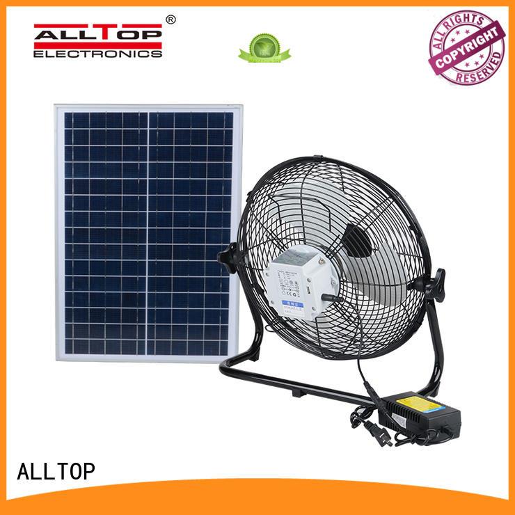 ALLTOP energy-saving advantages of solar powered street lights series indoor lighting